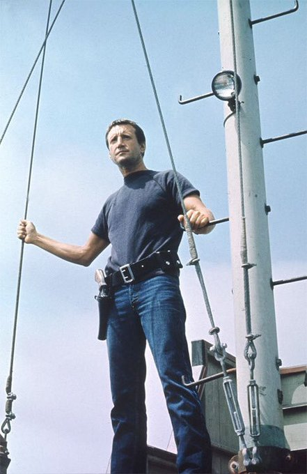 Happy Birthday In Heaven to Roy Scheider. JAWS \Your Guna Need a Bigger boat\