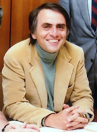 Happy birthday Dr. Carl Sagan Somewhere, something incredible is waiting to be known.