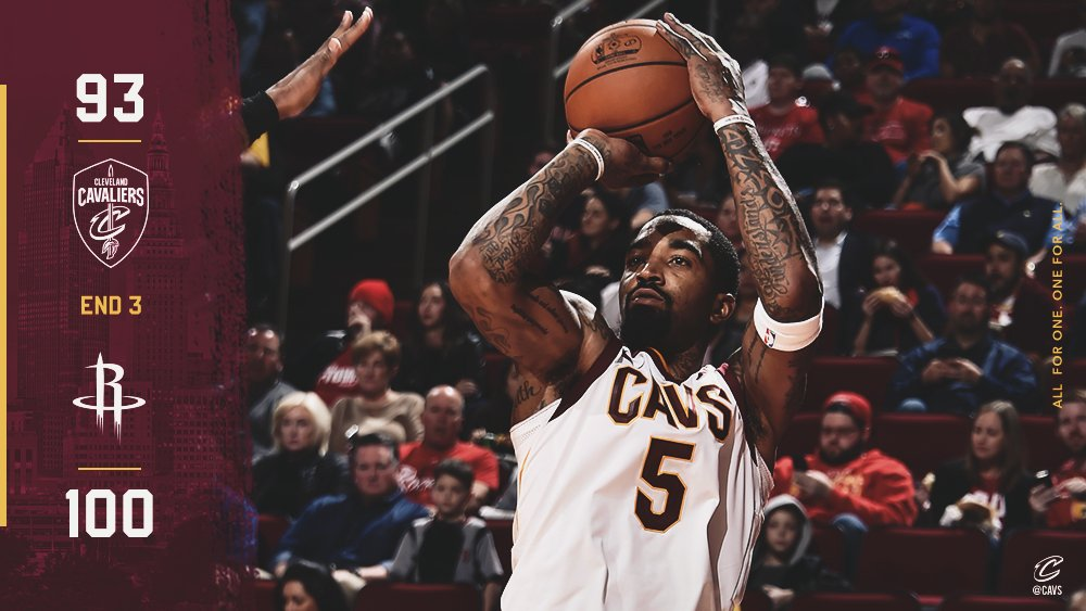 Time to finish strong.  #CavsRockets GALLERY: https://t.co/JeOxTALoCw  #AllForOne https://t.co/rq9IOgOiVW
