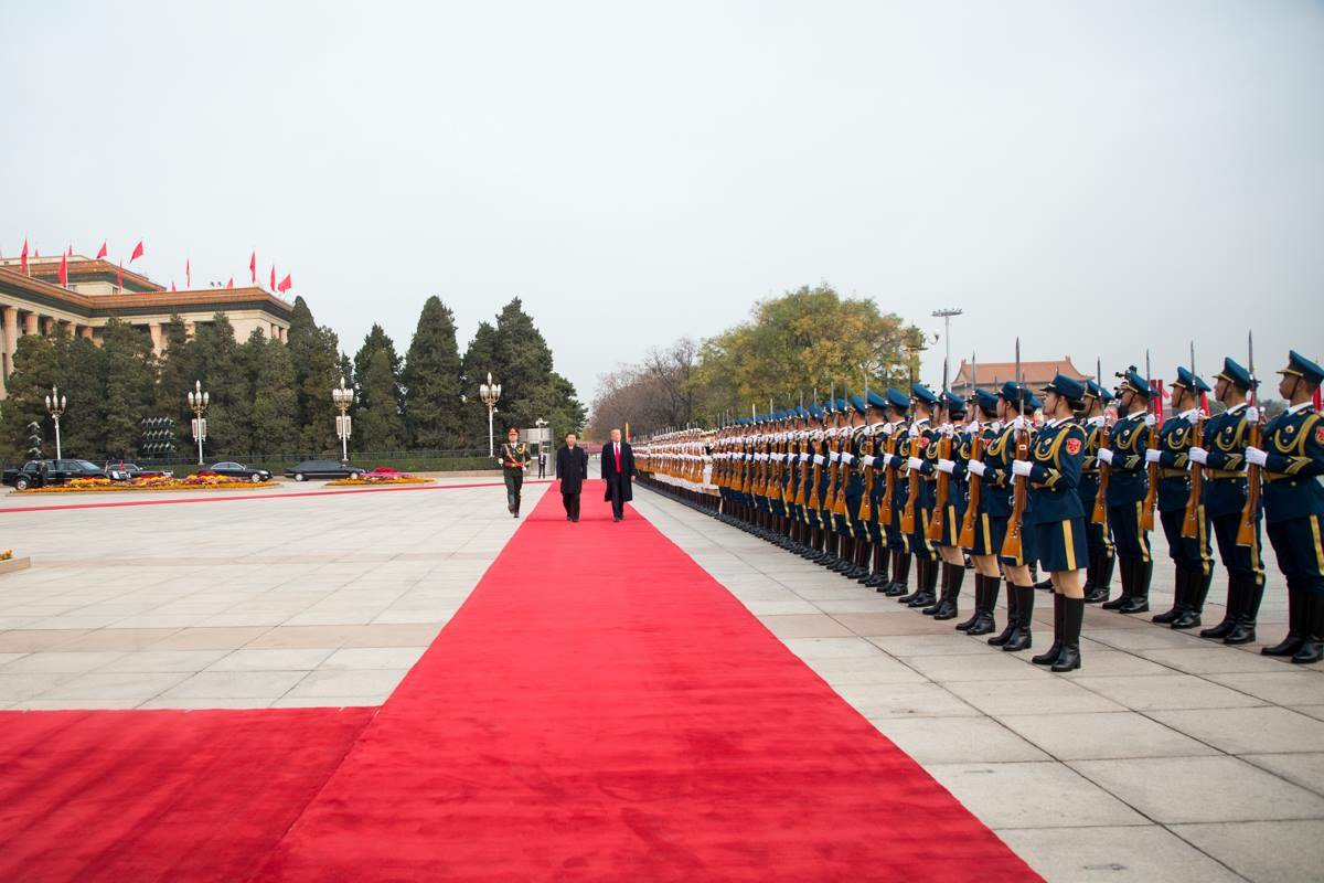 President Trump has departed China and is on his way to Vietnam, the fifth stop of #POTUSinAsia. https://t.co/YTA3xaWnfq