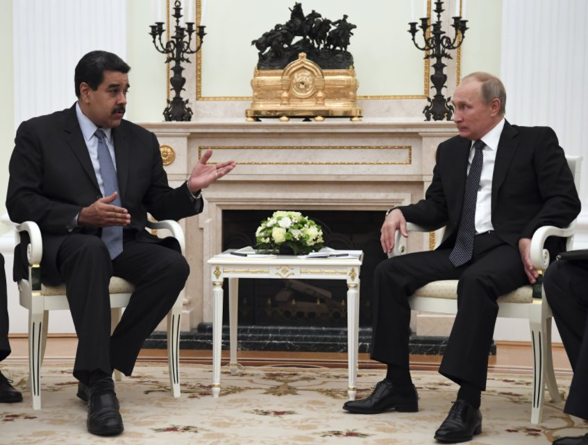 Russia comes to Venezuela's rescue as U.S. imposes more sanctions