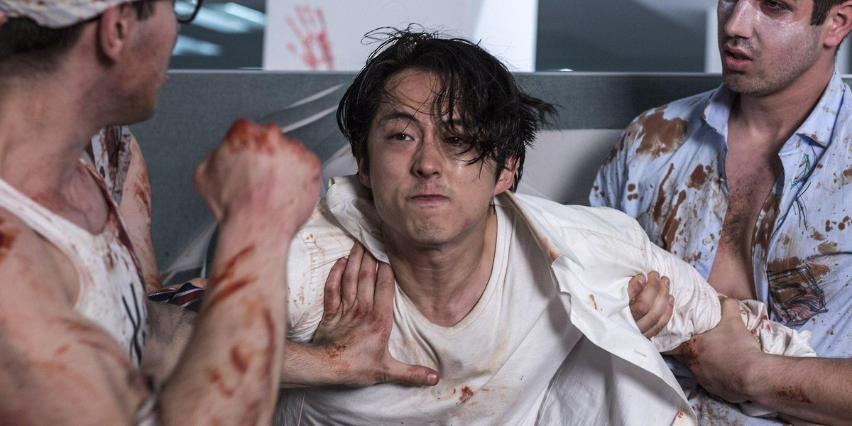 Review: 'Mayhem' takes aim at corporate culture