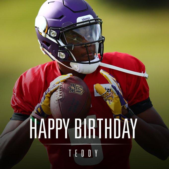 Hoje é aniversário dele, Teddy Bridgewater !!! Happy Bday !!!