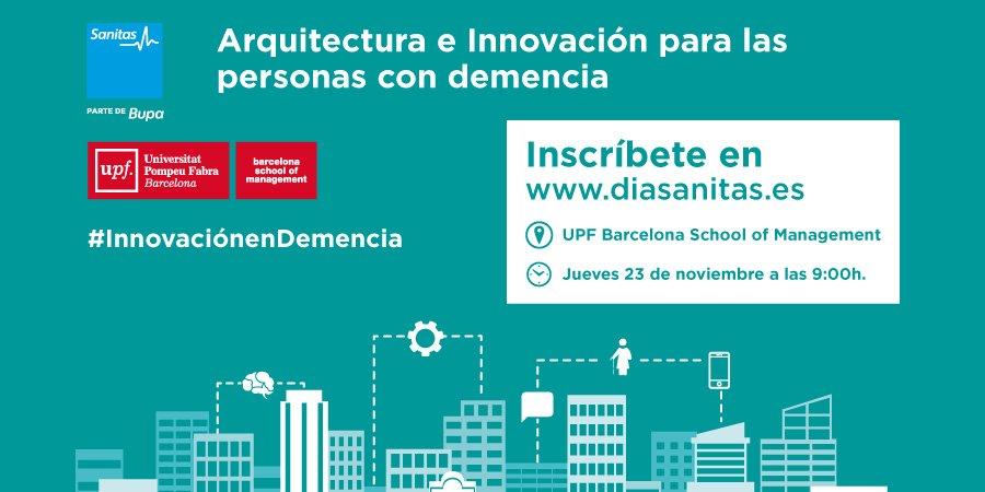 test Twitter Media - Inscríbete en la Jornada #Arquitectura e Innovación para las personas con #Demencia #InnovacionEnDemencia ¿Nos vemos en auditorio @bsm_upf? https://t.co/unEMpIAUGk