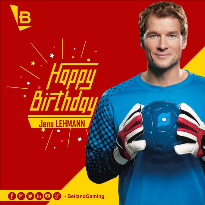 Happy 48th Birthday, Jens Lehmann