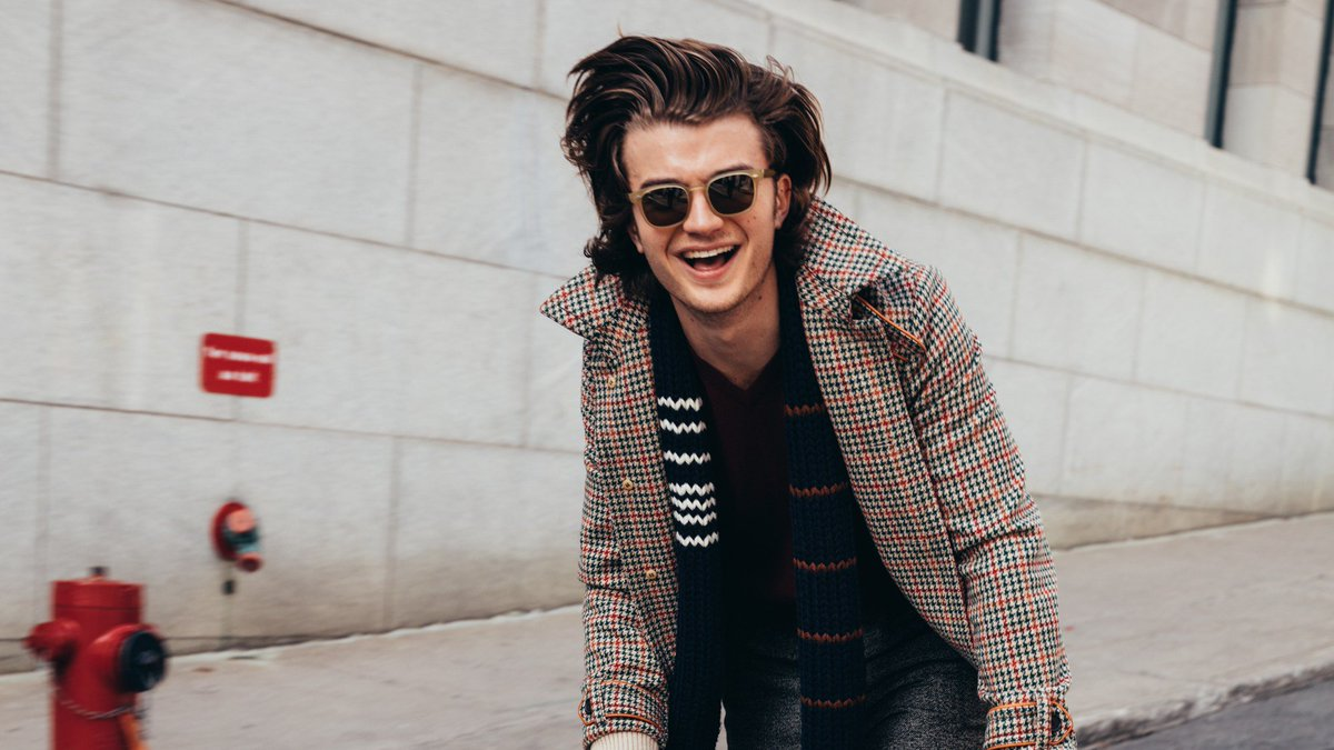 Why have I all of a sudden dev joe keery