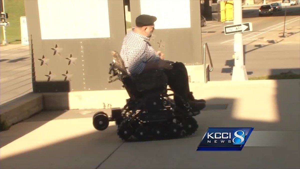 Gift brings Iowa veteran back outdoors