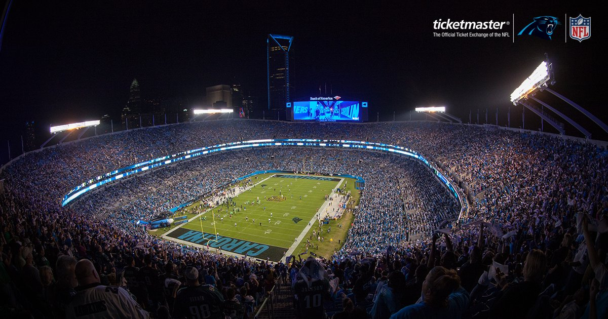 #PantherNation, are you ready for Monday night?  Score tickets with @NFLtixExchange: https://t.co/E4pruXtiV1 https://t.co/x6nlz6AAMH