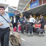 250 Polish tourists aboard TUI Fly arrive at the coast