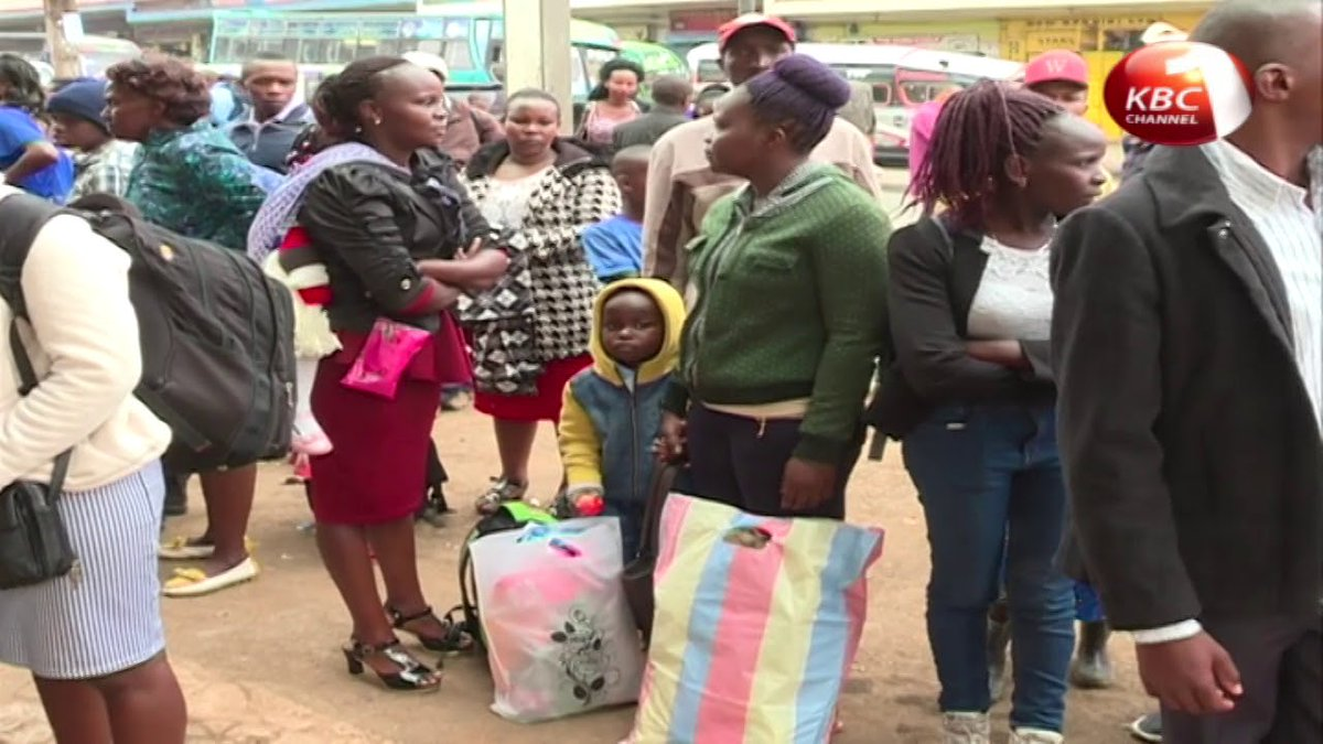 Leaders provide free transport to Murang'a for voters