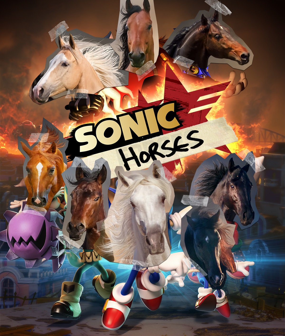 Presenting the new hit sequel to Sonic Forces: https://t.co/WQm3NMN5Sj