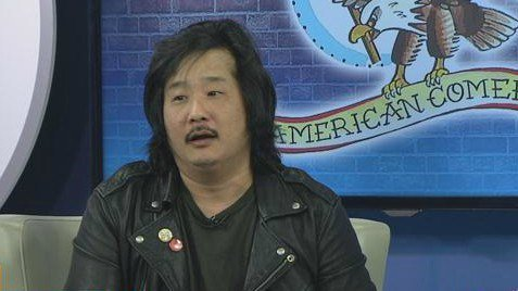 Mad TV star Bobby Lee center stage at the American Comedy Co