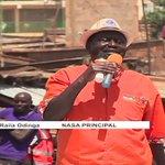 NASA leader Raila Odinga holds a political rally in Kawangware
