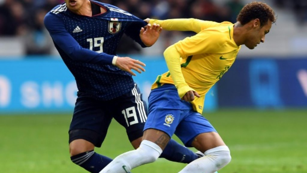 Neymar, Brazil roll aside Japan with video help