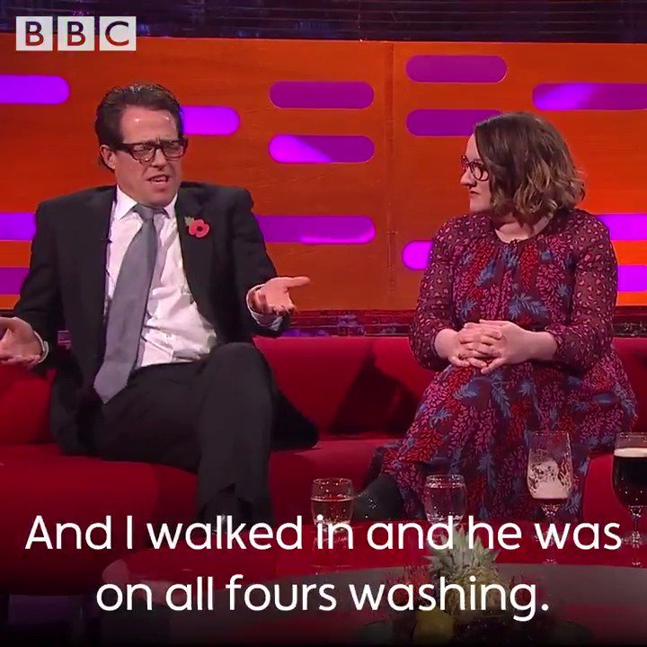 Hugh Grant will never forget the time he walked in on his agent in the shower. ���� https://t.co/enH3U7WnWR