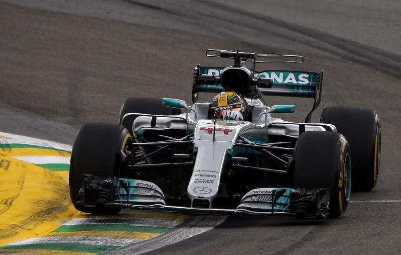 Four-star Hamilton dominates Brazil free practice