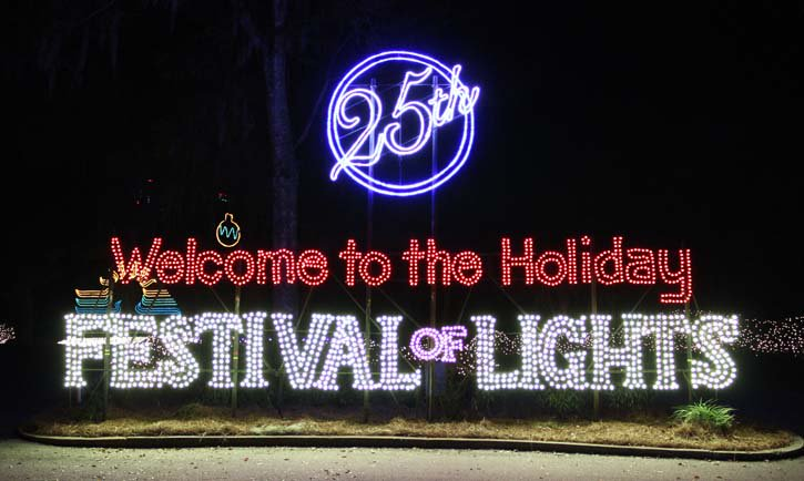 Holiday Festival of Lights kicks off