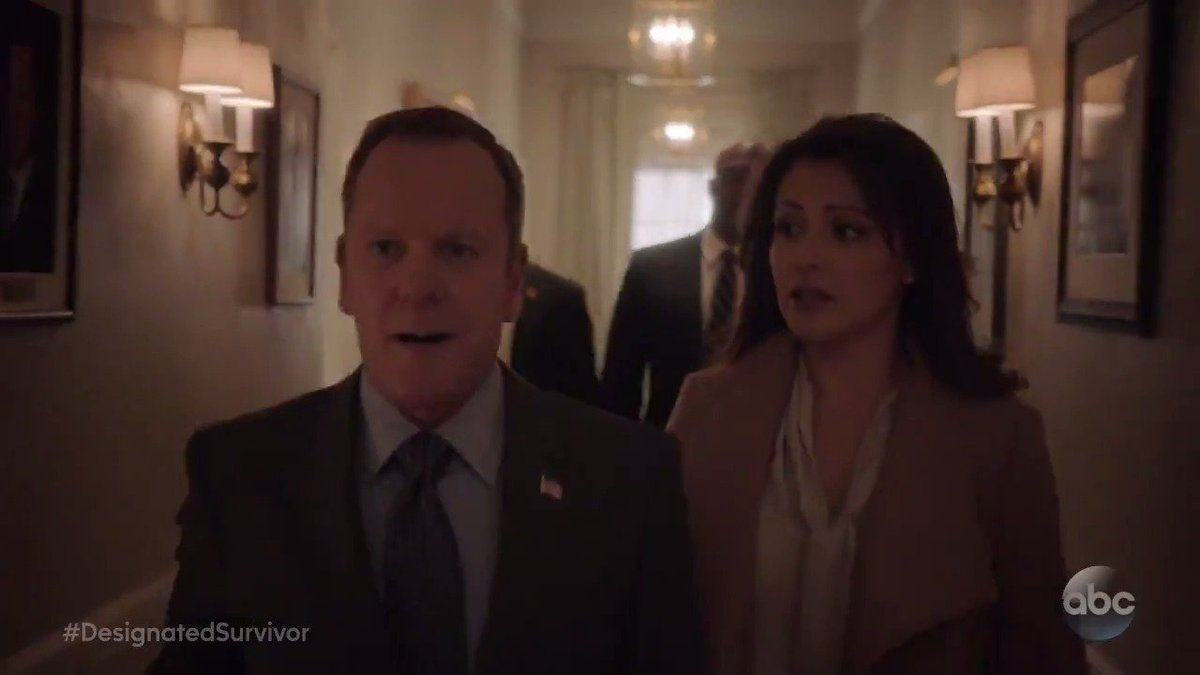 The first family find themselv designatedsurvivor