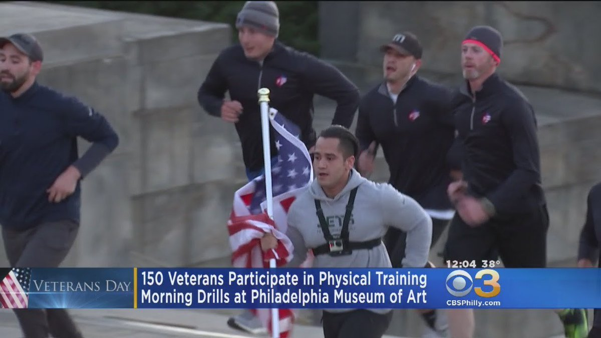 150 Veterans Participate In Physical Training At Art Museum