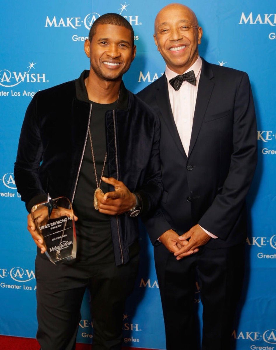 Humbled by this #ShiningStarAward ???????? Thank you @makeawishla and @UncleRUSH for being there to support. #WishGala2017 https://t.co/fexlUTsKq5