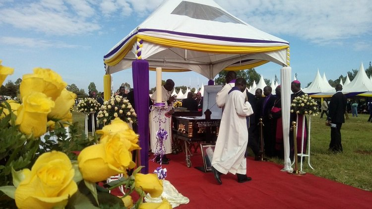 Late Bishop Korir to be buried at Sacred Heart Cathedral grounds