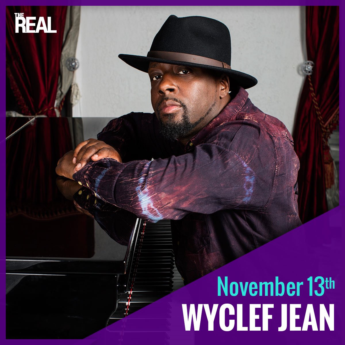 Are your ready for some #RealTalk ? Tune in Monday Nov 13 when I'm the co-host on @therealdaytime ???? https://t.co/k3ah6cOfTr