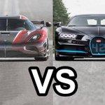 Koenigsegg Agera RS (0-400 37 Sec) VS Bugatti Chiron (0-400 42 Sec) BATTLE - Dauer: 4 Minuten, 12 Sekunden
