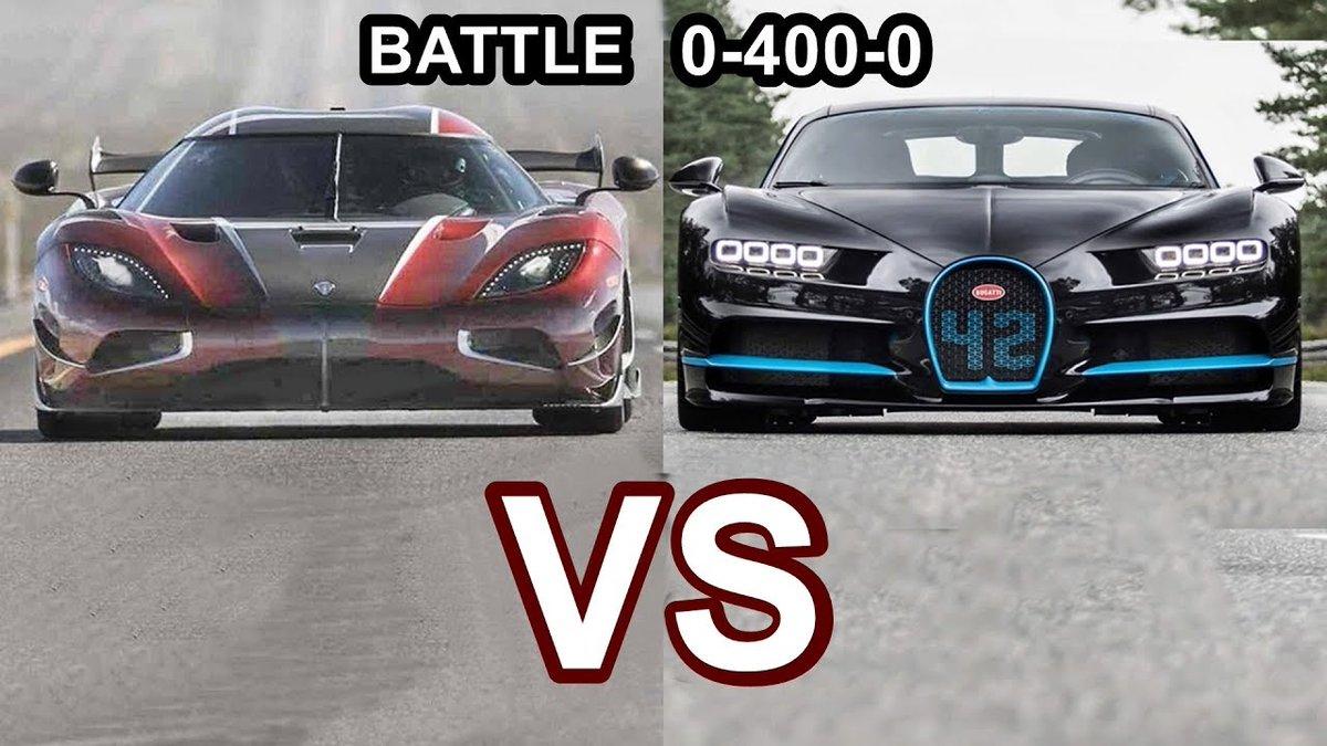 2018 Koenigsegg Agera RS VS 2018 Bugatti Chiron - World's Fastest Cars!! - Dauer: 3 Minuten, 37 Sekunden