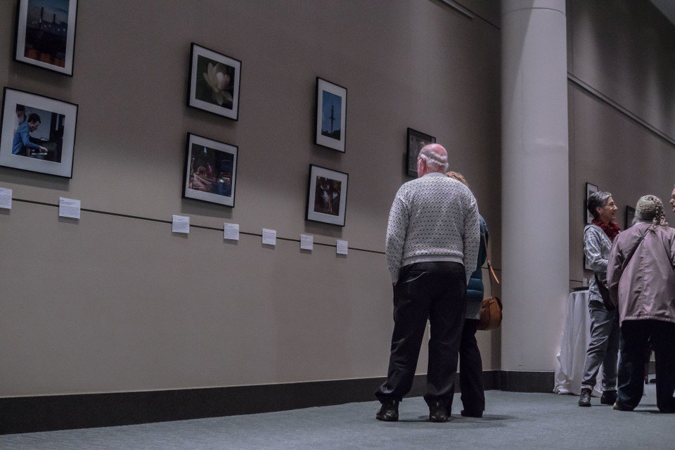 Seen@ The 43 towns Photography Exhibit at Mass Mutual Center in Springfield