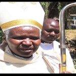 Catholic church leaders lead bishop Korir's burial ceremony