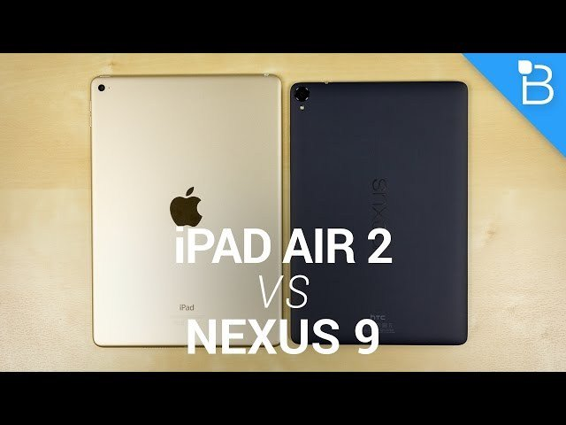 Apple iPad Air 2 vs Google Nexus 9! https://t.co/iGptza1ssw...