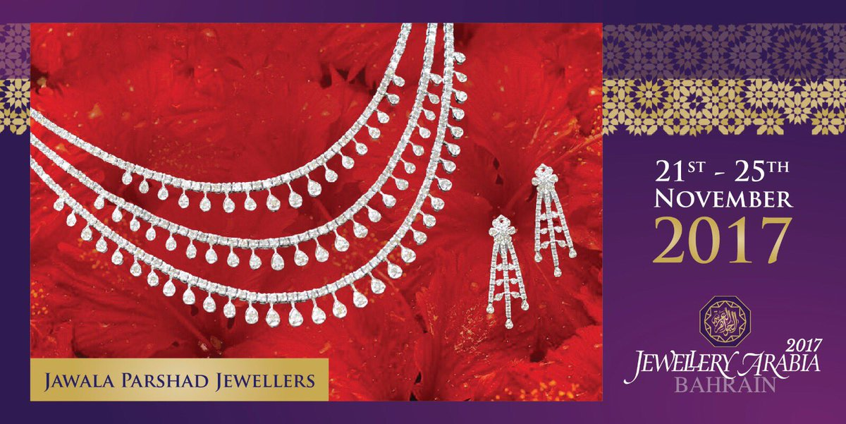 test Twitter Media - Jawala Parshad Jewellers is a legacy, a blend of modern and traditional designs. Exquisitex elegant, beautiful and intricate craftsmanship 💍 #jawalaparshadjewellers #jewelleryarabia2017 #elegant #beautiful #classy https://t.co/V0qYELiVLS