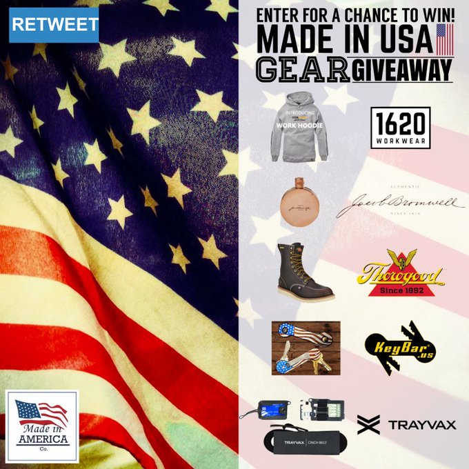 Made in USA Gear Giveaway!