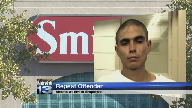 Man with record of violent crimes arrested for shooting at Smith's employee