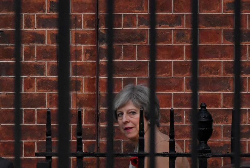 Forty UK Conservative lawmakers ready to oust PM May: Sunday Times