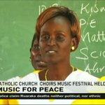 Catholic church choirs hold music festival in Meru