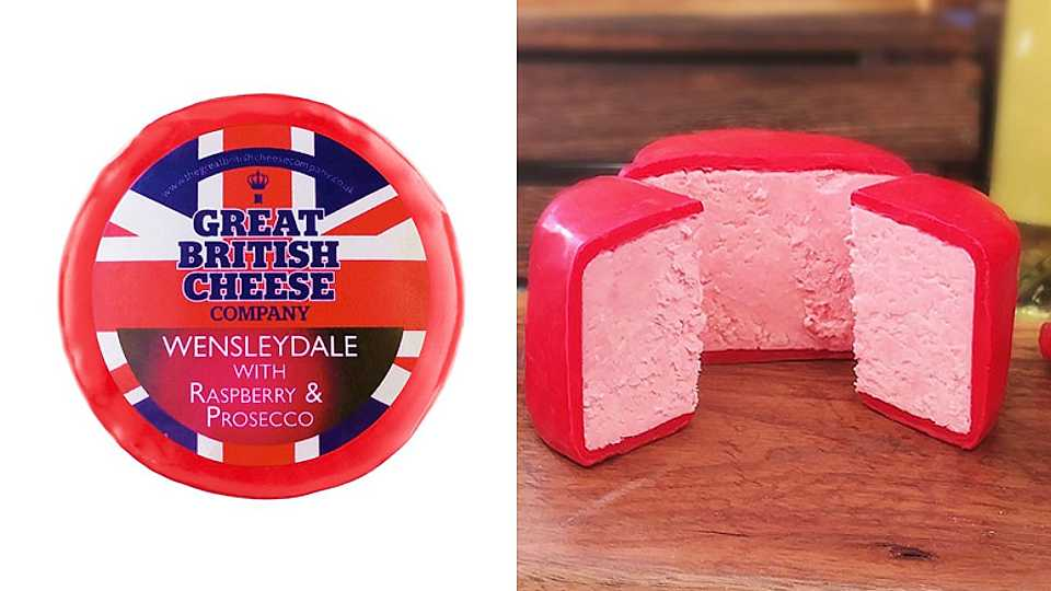 So what do you think of pink prosecco cheese?