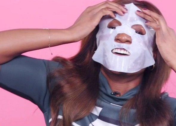 This 24k face mask TOTALLY changed my skin...