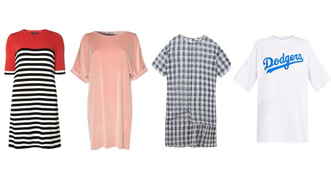 15 cool t-shirt dresses you can wear anywhere...