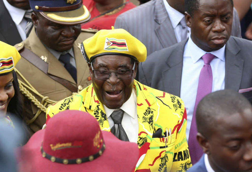 Zimbabwe's Robert Mugabe fired as ruling party leader, party official says