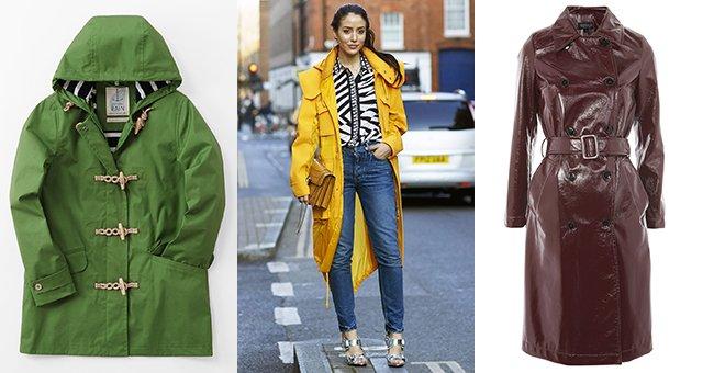 The high-street raincoats you need your wardrobe come rain or shine