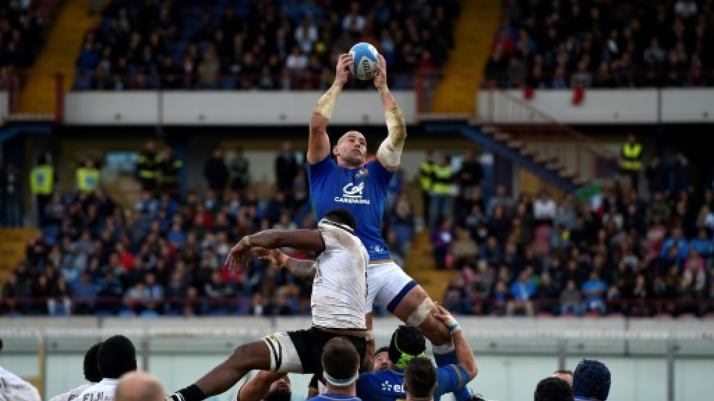 McKinley kicks penalty on debut as Italy beat Fiji