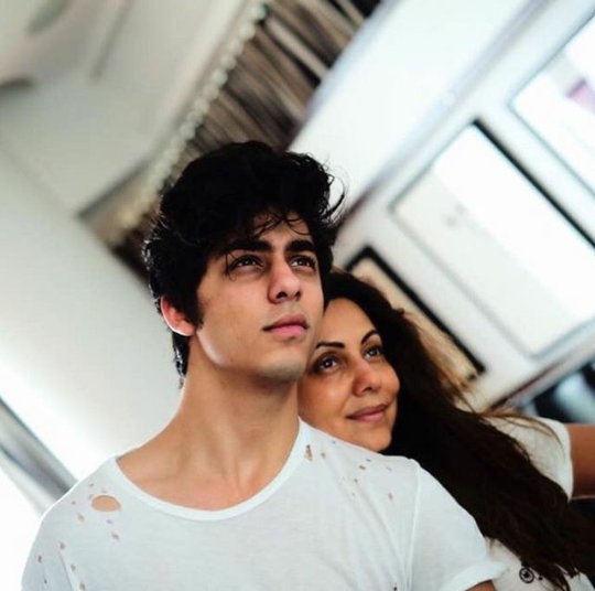 Wishing the charming & dashing prince Aryan Khan a very happy birthday