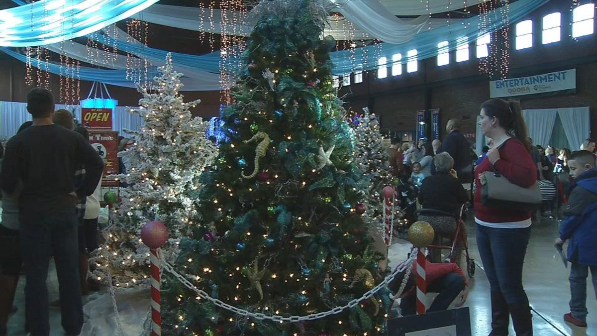28th annual Festival of Trees and Lights held this weekend at Louisville Slugger Field