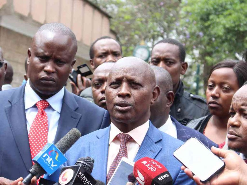 Nyeri deputy governor Mutahi Kahiga to be sworn-in on Monday