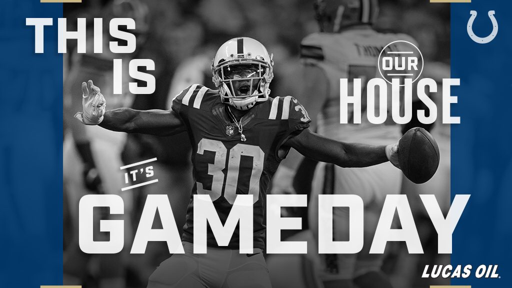 IT'S GAMEDAY! #PITvsIND https://t.co/rBZ26z80IJ