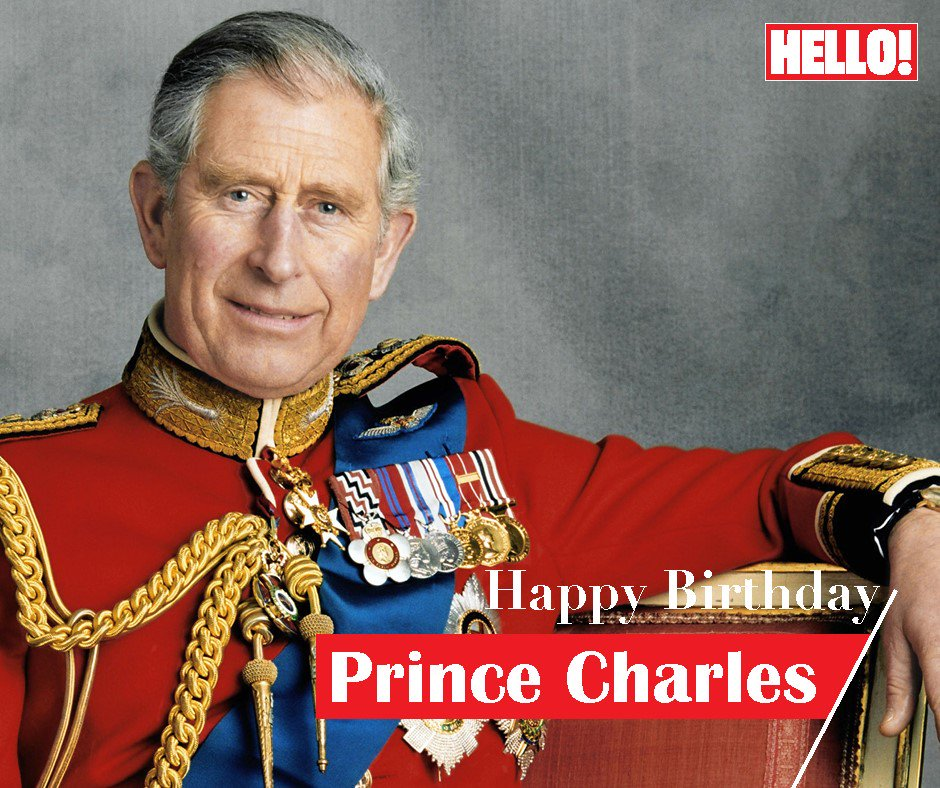 HELLO! wishes Prince Charles a very Happy Birthday