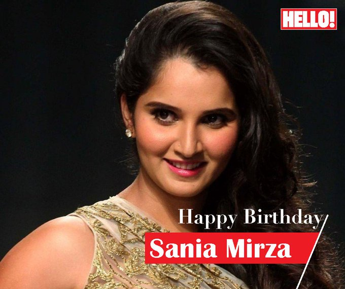 HELLO! wishes Sania Mirza a very Happy Birthday