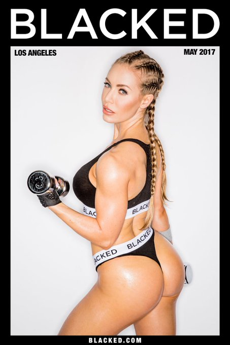 Working out on the weekend is way easier when you've got @XNicoleAnistonX as your partner! 💪🏻💦 #blacked