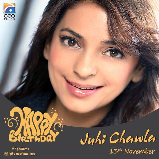 A very Happy Birthday to Juhi Chawla!